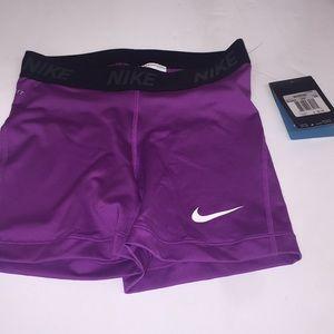 women's dri fit Compression shorts size XS Purple
